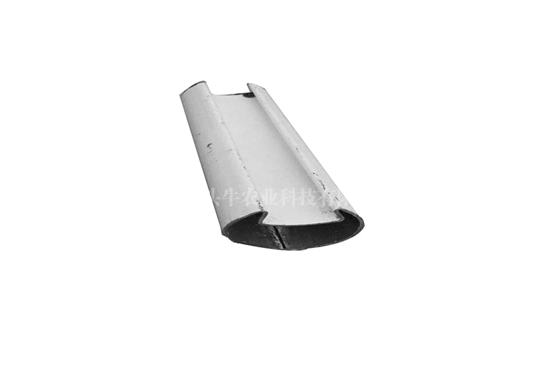 Card slotted film tube