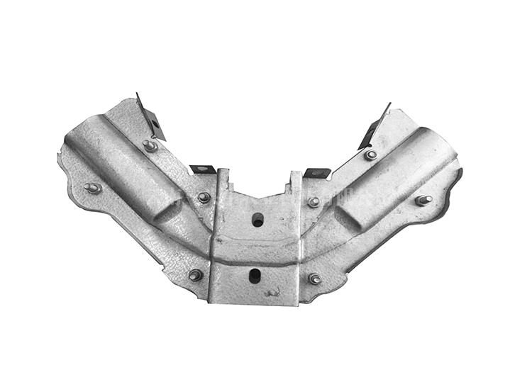 Elliptical tube bracket